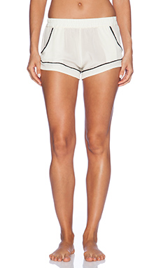MAISON DU SOIR Jaclyn Sleep Short in Pearl