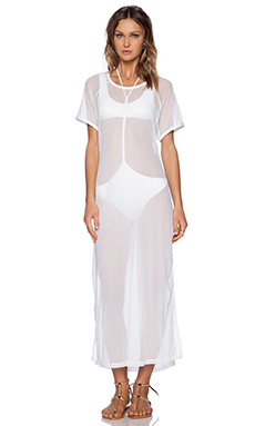 MINIMALE ANIMALE The Premonition Dress in Conch