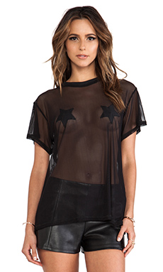MINIMALE ANIMALE Outlaw Tee in Outlaw Black