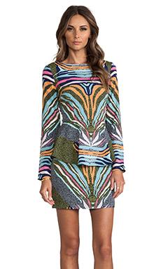 Mara Hoffman Peplum Dress in Phoenix Black