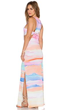 Mara Hoffman Maxi Dress in Sky Dye