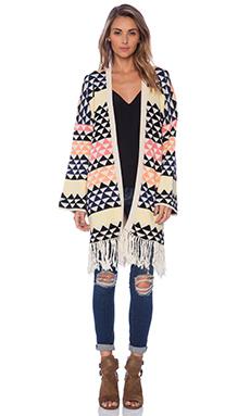 Mara Hoffman Blanket Poncho in Triangle