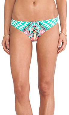 Mara Hoffman Classic Bottom in Cosmic Fountain Seafoam