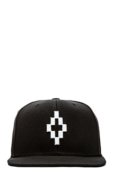 Marcelo Burlon Starter Cros Hat in Black