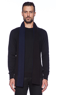 Marc by Marc Jacobs Colorblocked Cashmere Scarf in Ink Blue Multi