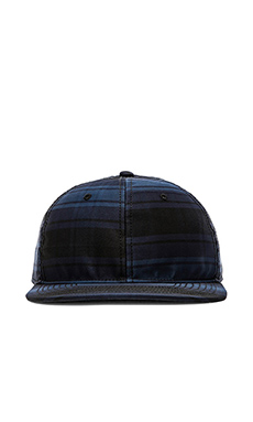 Marc by Marc Jacobs Renton Plaid Hat in Marine Blue Multi