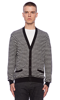 Marc by Marc Jacobs Tom Print Sweater in Wicken White Multi