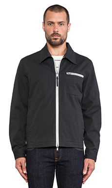 Marc by Marc Jacobs Joshua Cotton Twill Jacket in Orcha Black