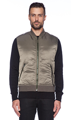 Marc by Marc Jacobs Pj Puffa Vest in Foliage Green