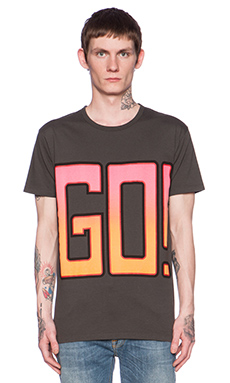 Marc by Marc Jacobs Go Tee in Washed Ink Multi