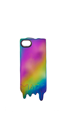 Marc by Marc Jacobs Melts iPhone5 Case in Metallic Oil Slick