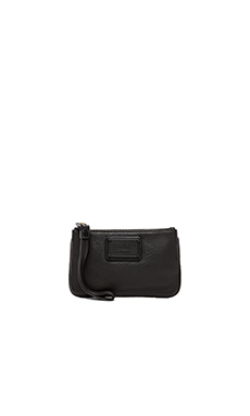 Marc by Marc Jacobs Electro Q Small Wristlet in Black