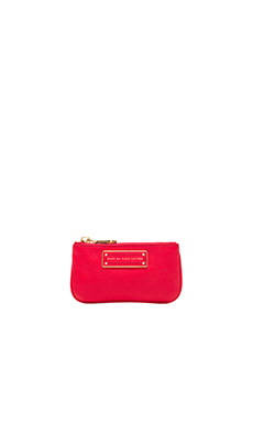 Marc by Marc Jacobs Too Hot to Handle Key Pouch in Cambridge Red