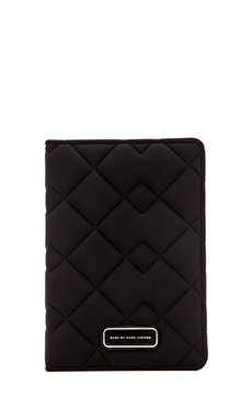 Marc by Marc Jacobs Crosby Neoprene Mini Tablet Book in Black