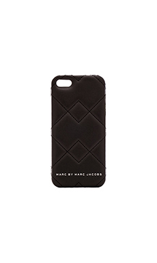 Marc by Marc Jacobs Crosby Quilted iPhone 5 Case in Black