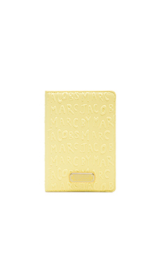 Marc by Marc Jacobs Adults Suck Mini Tablet Book in Banana Creme