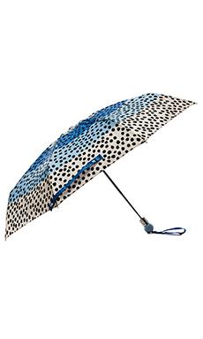 Marc by Marc Jacobs De-Lite Dot Umbrella in Conch Blue Multi