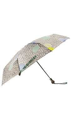 Marc by Marc Jacobs Floating Spot Umbrella in Slate Grey Multi