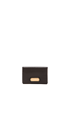 Marc by Marc Jacobs New Q Business Card Case in Black