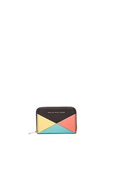 Marc by Marc Jacobs Sophisticato HVAC Zip Card Case in Black Multi