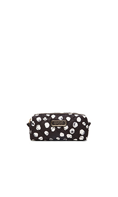 Marc by Marc Jacobs Crosby Quilt Nylon Narrow Cosmetic Bag in Black Multi