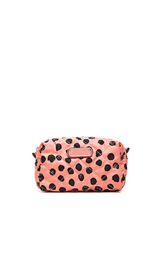 Marc by Marc Jacobs Crosby Quilt Nylon Large Cosmetic Bag in Spring Peach Multi