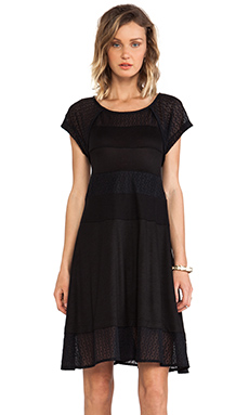 Marc by Marc Jacobs Addy Lace Knit Dress in Black