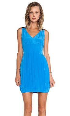 Marc by Marc Jacobs Frances Silk Tank Dress in Spring Sky Blue Multi