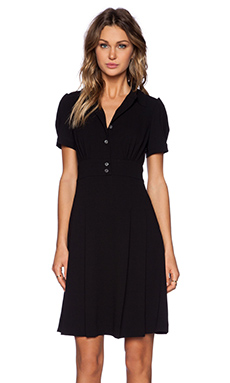 Marc by Marc Jacobs Yumi Crepe Dress in Black