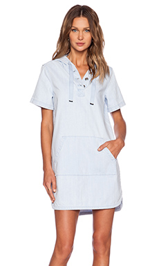 Marc by Marc Jacobs Pale Indigo Shirt Dress in Sunbleached