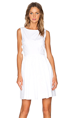 Marc by Marc Jacobs Stretch Poplin Dress in White