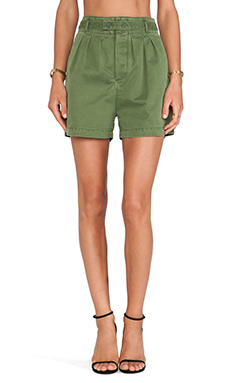 Marc by Marc Jacobs Classic Army Shorts in New Fatigue Green