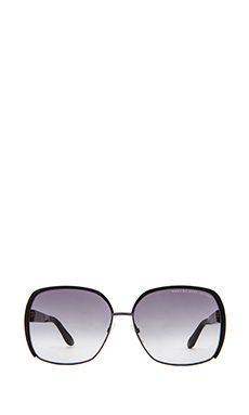 SLIM FRAME OVERSIZED SUNGLASSES