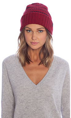 Marc by Marc Jacobs Eva Hat in Cabernet Red Multi