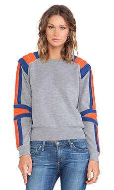 Marc by Marc Jacobs Grady Sweater in Skipper Blue Multi