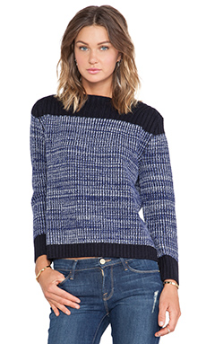 Marc by Marc Jacobs Julie Sweater in Skipper Blue Multi