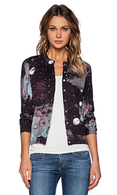 Marc by Marc Jacobs Stargazer Printed Sweater in Black Multi