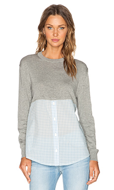 Marc by Marc Jacobs Gracie Sweater in Frost Grey Melange