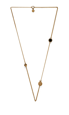 Marc by Marc Jacobs New Classic Marc Toc Collected Charms Necklace in Black