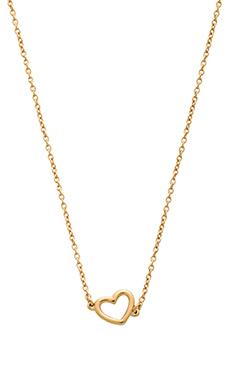 Marc by Marc Jacobs Hearts, Stars, Arrows Double Heart Necklace in Oro