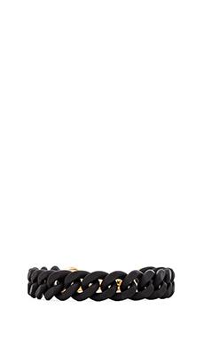 Marc by Marc Jacobs Rubber Chain Bracelet in Black