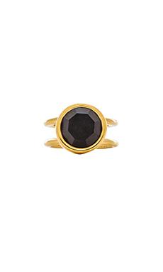Marc by Marc Jacobs Locked In Orbit Ring in Black