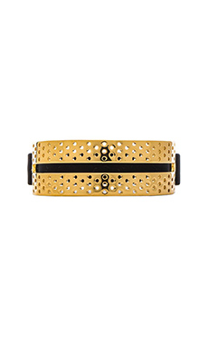 Marc by Marc Jacobs Perf-ection Rubber Bracelet in Black