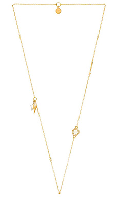 Marc by Marc Jacobs New Classic Marc Stardust Medley Necklace in Cream