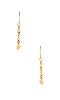 Marc by Marc Jacobs New Classic Marc Starburst Earring in Oro