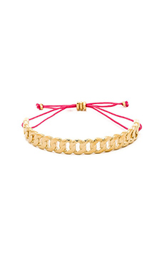 Marc by Marc Jacobs Linked Friendship Bracelet in Oro