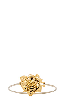 Marc by Marc Jacobs Jerrie Rose Cuff in Oro Multi