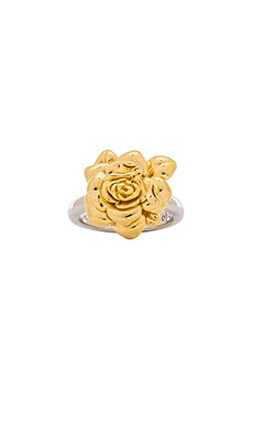 Marc by Marc Jacobs Jerrie Rose Ring in Oro Multi
