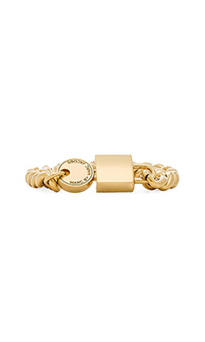 Marc by Marc Jacobs Lock In Bracelet in Oro