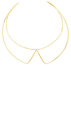 Marc by Marc Jacobs Lightness Collar Necklace in Oro